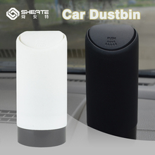 SHEATE Multifunctional Dustbin Environmental Soft Silicone Trash bin 16*6.5/cm Garbage pocket Car Organizer Mini storage box