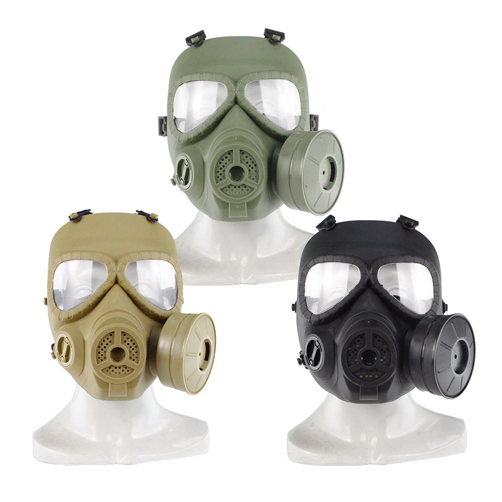 1pc Paintball Mask Tactical Airsoft Game Full Face Protection Safety Mask Guard Skull Paintball Goggles Gear цена 2017