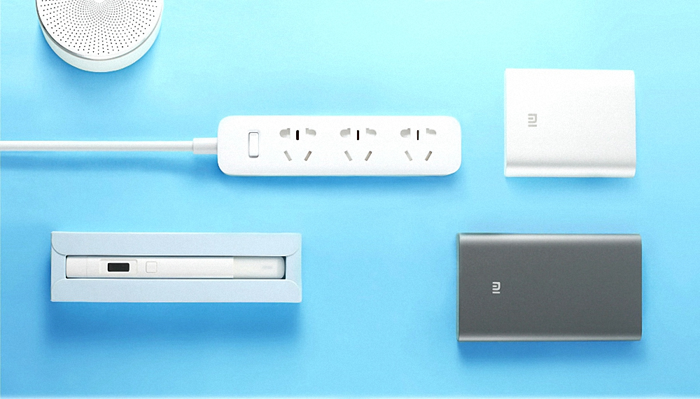 XiaoMi Power Strip 5M1M cable Mijia 3 Power Sockets Extension Socket Power Converter Adapter Mi Electrical Multi Adapter H15 # (10)