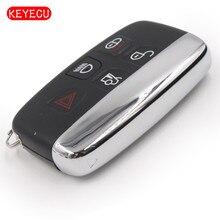 Keyecu Smart Remote Key fob 434 мГц 4 + 1 кнопка для Land Rover Discovery LR4 и Freelander2 2013- 2015/discovey4 2012-2015 и LR2