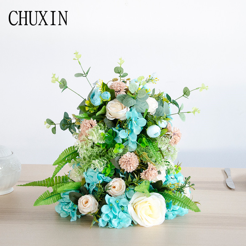 Festive & Party Supplies New Diy Artificial Silk Cake Main Table Flower Home Wedding Hotel Decoration Fake Flower Studio Photography Background Props Factories And Mines Artificial & Dried Flowers