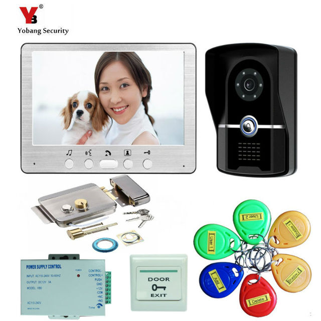 Yobang Security freeship by DHL 7  Security Doorbell Video Intercom Camera Video Interphone Night View  sc 1 st  AliExpress.com & Yobang Security freeship by DHL 7