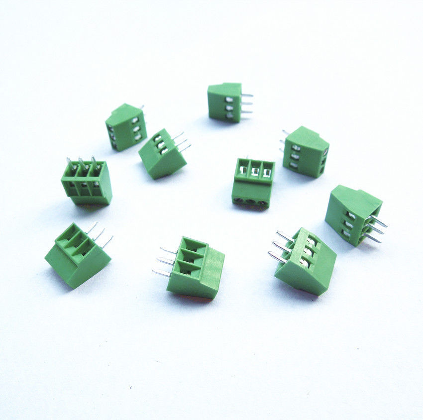 10pcs 3 Poles/3 Pin 2.54mm/0.1 PCB Universal Screw Terminal Block Connector футболка top secret top secret to795emscc06