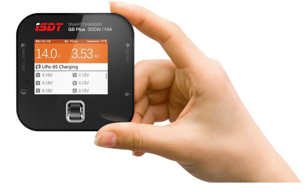 Chargeur de batterie MINI poche 100% d'origine ISDT Q6 Plus 300 W 14A