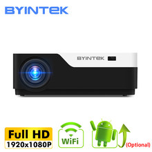 BYINTEK MOON K11 200inch 1920x1080 1080P FULL HD LED Video Projector with HDMI USB For Game Movie Cinema Home Theater(China)