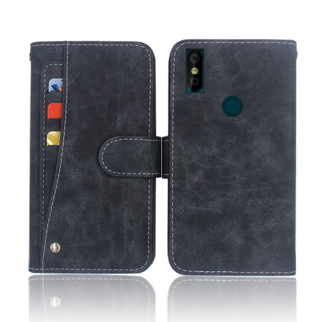 US $4 49 25% OFF|Aliexpress com : Buy Hot! Doogee Y8 Case High quality flip  leather phone bag cover Case For Doogee Y8 with Front slide card slot from