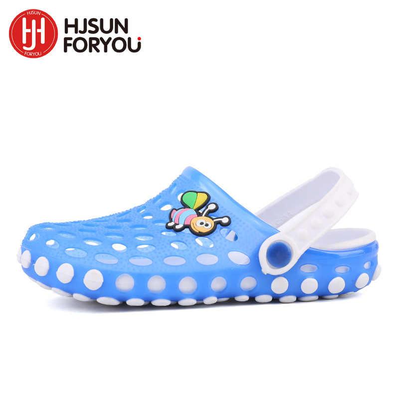 2019 ฤดูร้อนเด็กรองเท้าแตะชายหาดเด็กลื่นรองเท้าแตะด้านล่างนุ่มทารกรองเท้าสบายรองเท้า