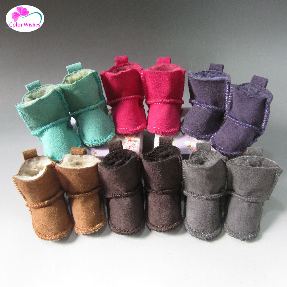Doll Accessories 7cm snow boots Shoes for dolls fits16 Inch 40cm Sharon doll & 1/4 BJD doll famosa doll clothes 36cm nenuco original doll accessories doll clothes for 40cm sharon doll