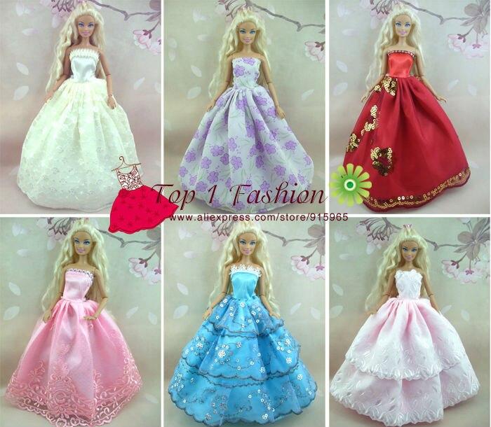 Cadeau d'anniversaire pour bébé fille 30 éléments = 10 robes + 10 - Poupées et accessoires - Photo 2