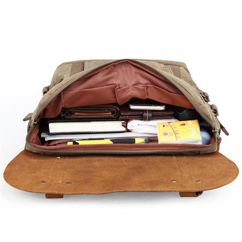 Bagaj ve Çantalar'ten Sırt Çantaları'de Fotoğraf çantası SLR kamera çantası su geçirmez batik tuval laptop sırt çantası retro dijital kamera sırt çantası ile hakiki deri kılıf'da  Grup 3