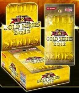 Yu Gi Oh jeu roi japonais véritable GS2012 or Pack 04 carte de jeu Anime Yugioh carte de jeu