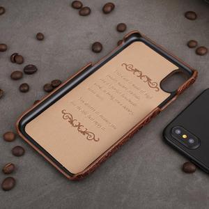 Image 4 - Véritable Étui En Cuir Pour iPhone 12 11 Pro XS MAX 12 Mini 12 MINI 12Pro 11Pro X XR SE 2020 6 S 6 S 7 8 Plus Étui 3D Croc couvre chef