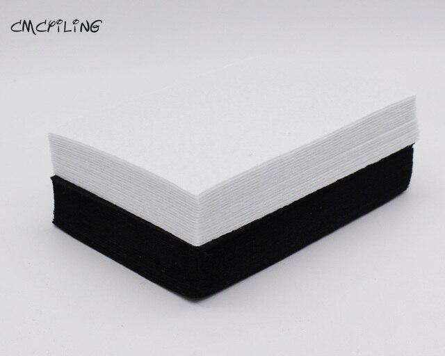 CMCYILING белый черный цвет твердый Войлок ремесло 1 мм Войлок полиэстер лист из ткани для Diy украшения шитья Творческий алфавит