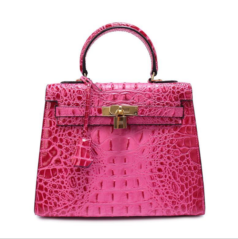 De Pink Femme Vache 2019 28 Cuir burgundy En Capacité Mode Sac Marque Peau Alligator gray hot Cm Bleu lue À Grande Black Platine 25 Pour Sacs Designer Main 13TKcFuJl