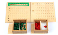 תינוק צעצועים 2 ב 1 ילד מראש לוח חרוז כפל וחילוק לילדים צעצועים למידה מוקדם מונטסורי מתמטיקה מתנת אימון