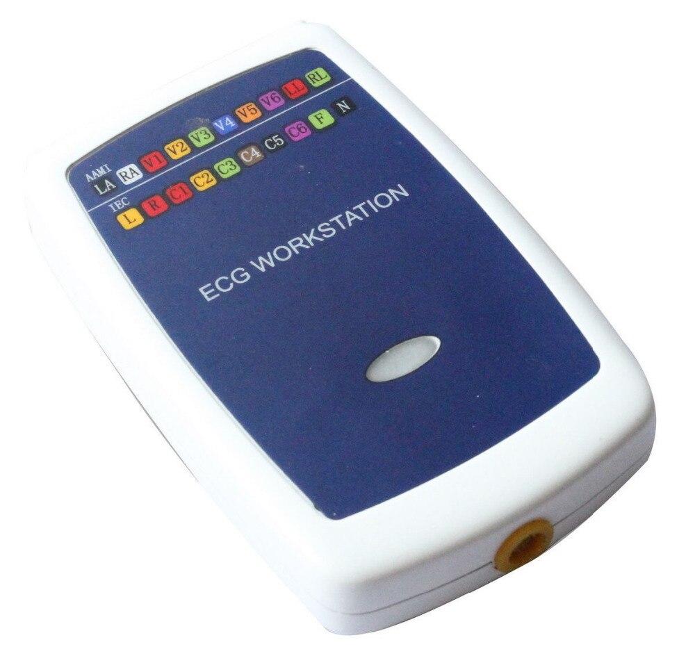 CONTEC8000G Multi-funzione PC ECG/EKG Workstation Sistema 12 Lead Riposo ECG, NUOVO