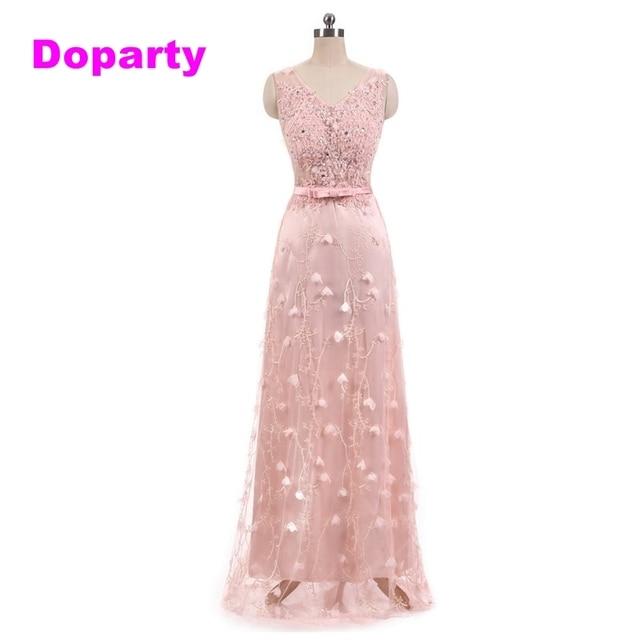 Doparty XS3 Lange Rosa Formale Partei ärmeln Elegante Mutter der ...