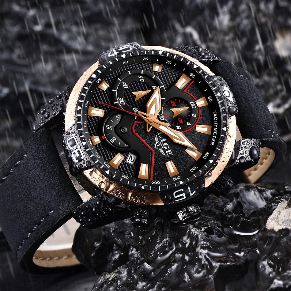 HTB1yMjfPY2pK1RjSZFsq6yNlXXaS LIGE 2019 Fashion Men's Sport Watch Men Analog Quartz Watches Waterproof Date Military Multifunction Wrist Watches Men Clock+Box