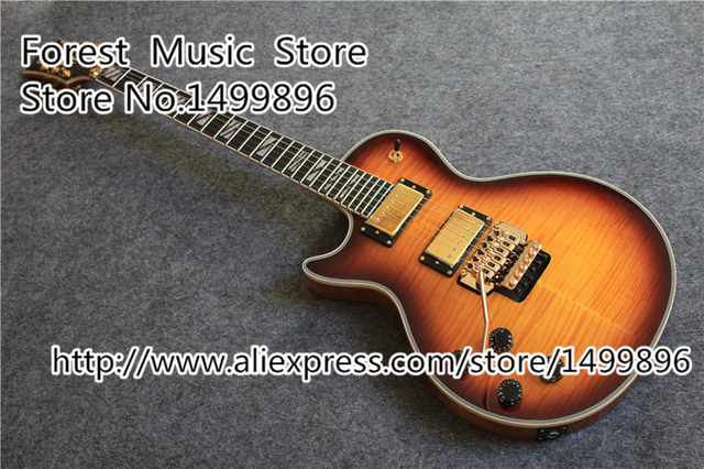 Cheap Top Quality Left Handed LP Electric Guitars China 24 Frets Ebony Fretboard Guitar Custom As You Want