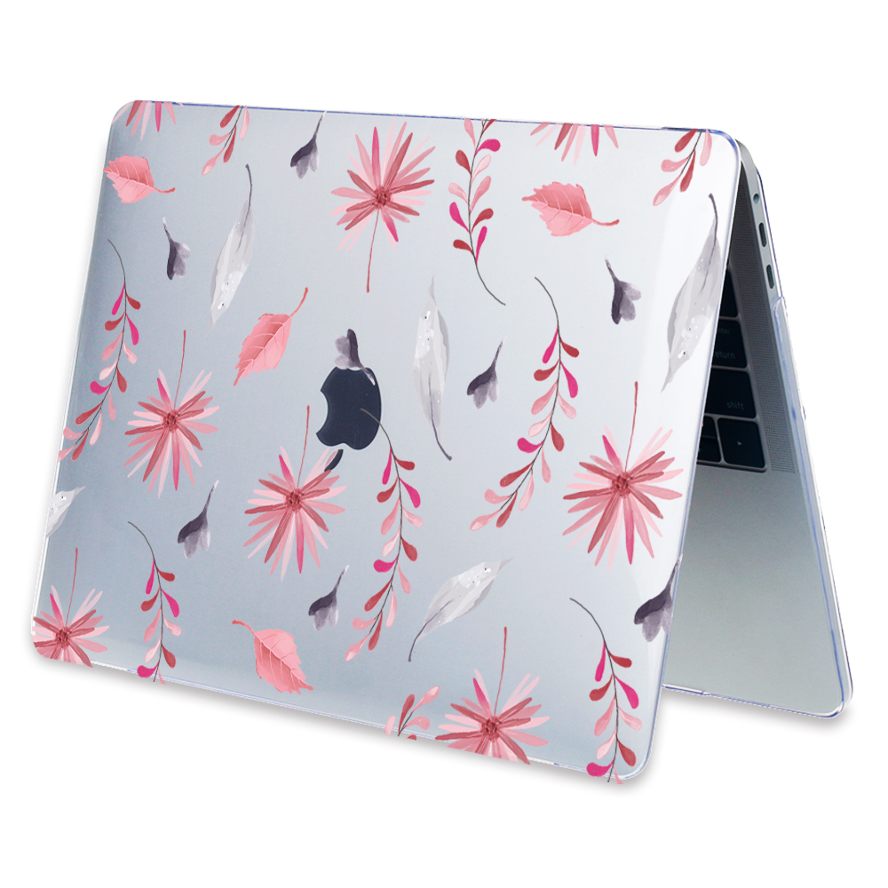 Redlai Plant Floral Print Hard Case For Apple Macbook Pro Retina 13 3 12 15 4 Sleeve Air 11 13 3 New Pro 13 15 A1706 Laptop Case in Laptop Bags Cases from Computer Office