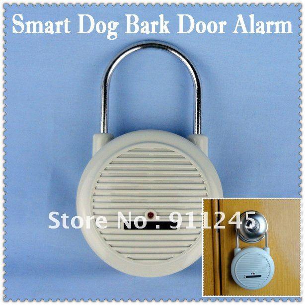 Smart Vibration Shock Barking Dog Door Lock Hanging Burglar Alarm