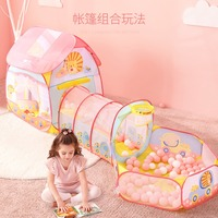 Large 3M Toy Baby Tents Kids Crawling Tunnel Play Tent House Ball Pit Pool Tent for Children Toy Ball Pool Ocean Ball Holder Set