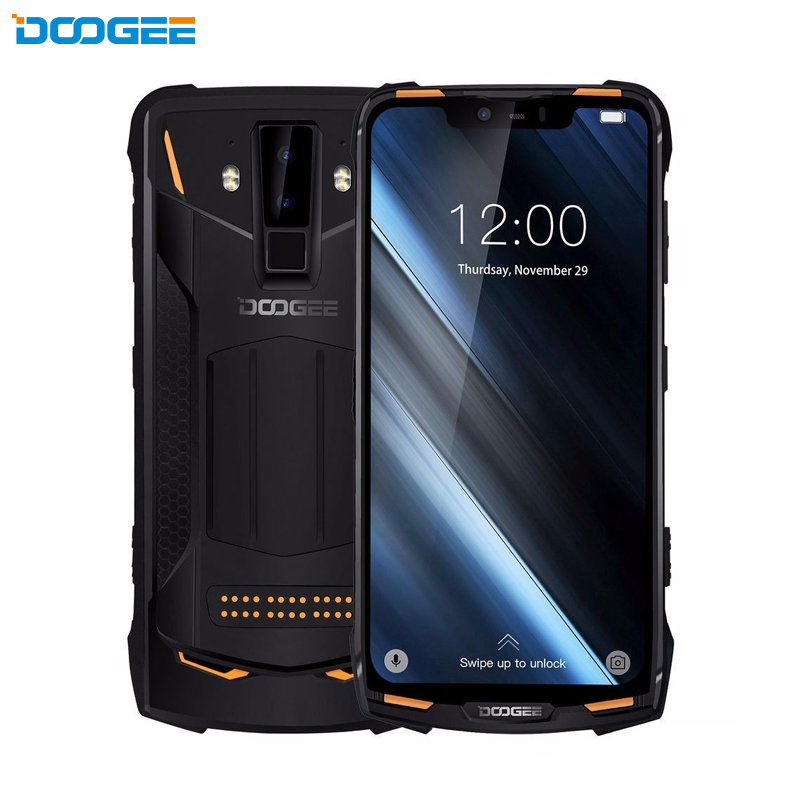 DOOGEE S90 IP68/IP69K modulaire robuste Android 8.1 SmartPhone 6.18 pouces 5050 mAh Helio P60 Octa Core 6 GB 128 GB 16MP + 8MP caméra
