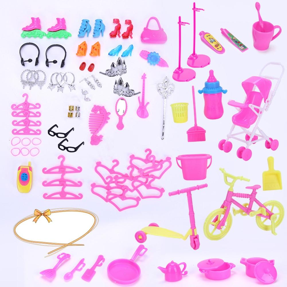 Bonecas leadingstar 98 pçs/set barbie dolls Dimensões : 23*5*15cm