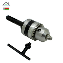 Electric Hammer Drill Chucks Cap 1.5-10 mm 3/8 inch Mount 24UNF SDS Shank Adapter for Woodworking DIY Power Accessories