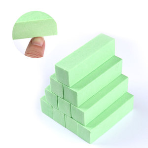 2020 новинка 10 шт./компл. шлифовальный спонж пилки для ногтей блок шлифовальный маникюр с полировкой инструмент для дизайна ногтей