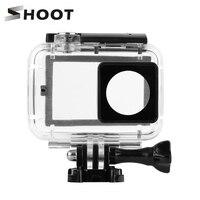 SHOOT 40M Diving Waterproof Case With Touch Backdoor For Xiaomi Yi 4K Xiaoyi 2 II Case