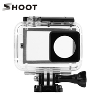 SHOOT 40M Diving Waterproof Case With Touch Backdoor For Xiaomi Yi 4K Xiaoyi 2 II Case
