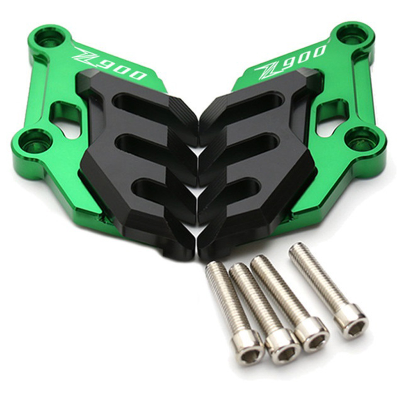 Motorcyclecnc Aluminum Front Brake Disc Brake Caliper For Kawasaki Z900 2017 Accessories Guard Protector Cover