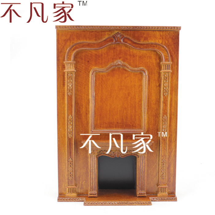 DOLLHOUSE MINIATURE 1/12 SCALE WELL MADE GRAND BEAUTIFUL FIREPLACE for honey well 5180 5180sr decoded miniature image scan engines