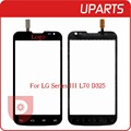 Original For LG L70 Dual Sim Card D325 Touch Screen Digitizer Outer Glass Sensor Black White Free Shipping + Tracking code