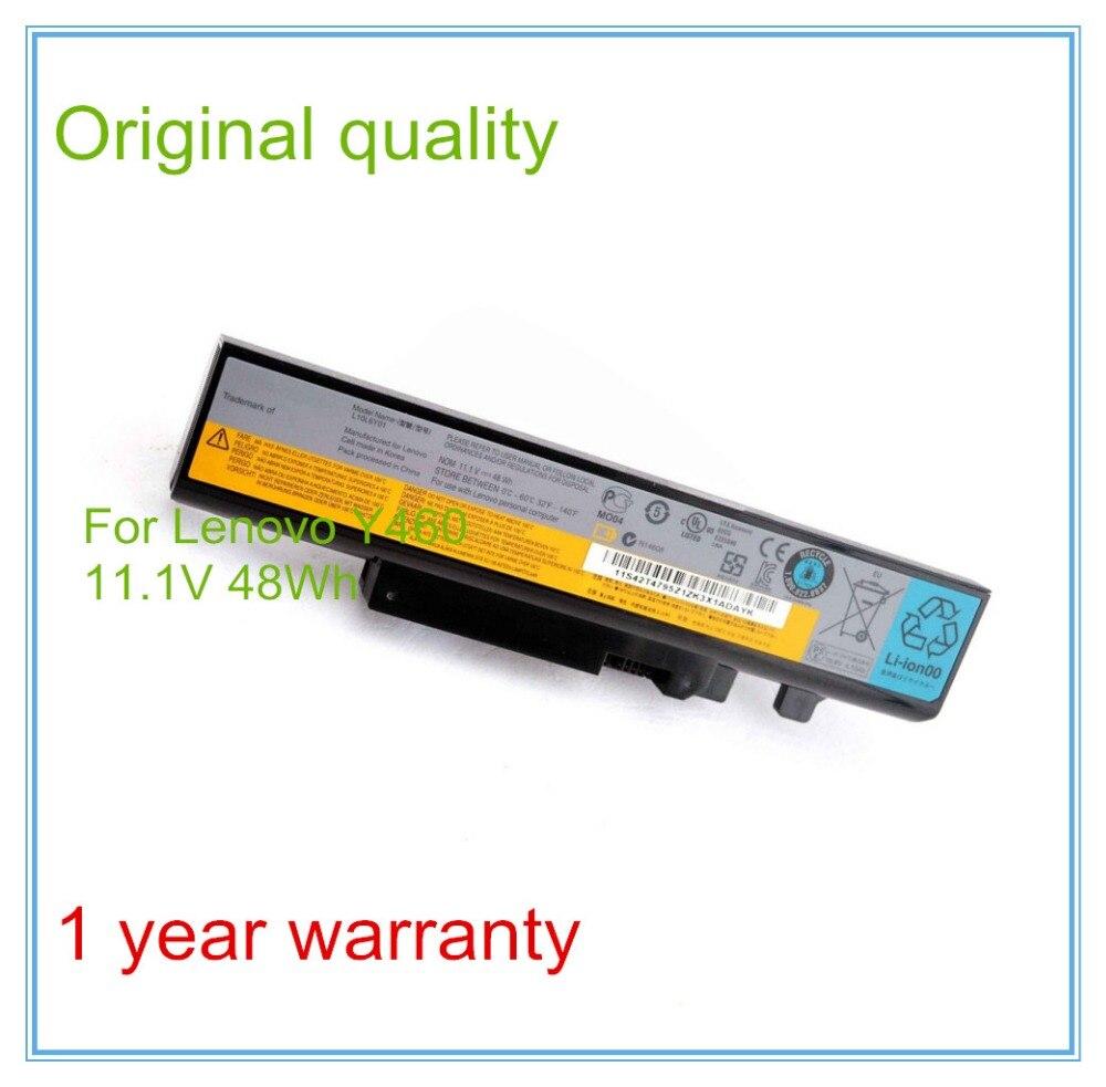 Original Battery for B560 V560 Y560 Y460 batteries L09S6D16 L09L6D16 L09N6D16 48Wh
