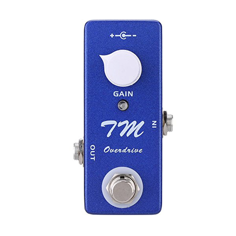 XFDZ Mosky Mini TM Overdrive Pedal Electric Guitar Effect Pedal with True Bypass image