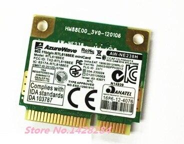 SSEA новая Оригинальная беспроводная карта для ноутбука RealTek RTL8188ce RTL8188EE, мини PCI-E 802,11 b/g/n 150 Мбит/с, бесплатная доставка