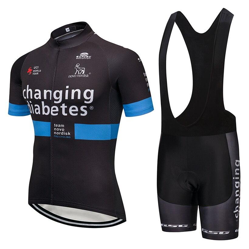 UCI team 2018 changing cycling jersey Bike shorts set MTB mens summer ropa ciclismo  cycling wear fb6baf345