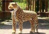 Искусственные леопардовые огромные 110x75 см Плюшевые игрушки могут быть ridad, креативный подарок на день рождения, вечерние docreation подарок d2559