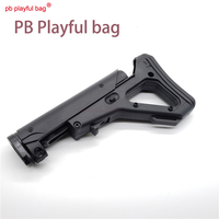 PB PlaNew model toy gun bingfeng refit nylon UBR butt stock scalable electric water bullet gun tactical cs gaming accessory T58
