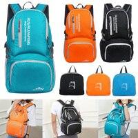 Universal 40L Foldable Outdoor Soft Backpack Lightweight Multi Pocket Climbing Tool Storage Bag Waterproof Nylon Climbing