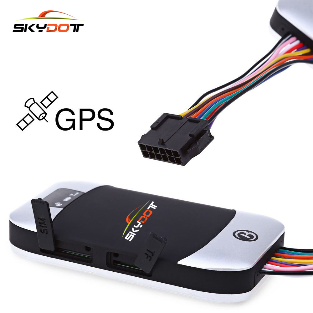 SKydot Mini Car GPS Tracker GPS303H TK303H GSM/GPRS/GPS Tracking Device Remote Control Alarm Locator For Vehicle Motorcycle