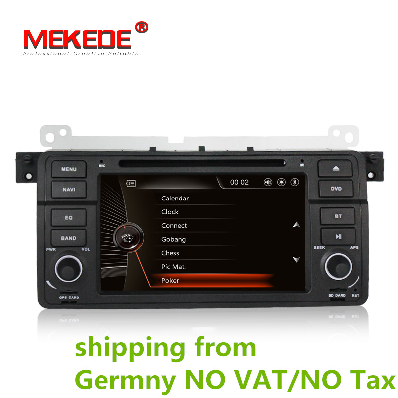 3g HÔTE + MTK Voiture DVD pour BMW E46 M3 318i 320i 325i 328i voiture radio avec GPS Radio ipod Bluetooth USB/SD, soutien 3g + carte gratuite