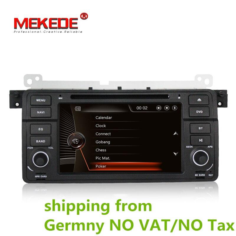 3g HOST + MTK DVD Dell'automobile di trasporto per BMW E46 M3 318i 320i 325i 328i autoradio con il GPS Radio bluetooth Ipod USB/SD, supporto 3g + mappa gratuita