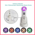Portable USB Charge 5 Colors LED Light EMS Vibration Massage Bipolar RF Skin Lift Tighten Radio Frequency Facial Beauty Machine