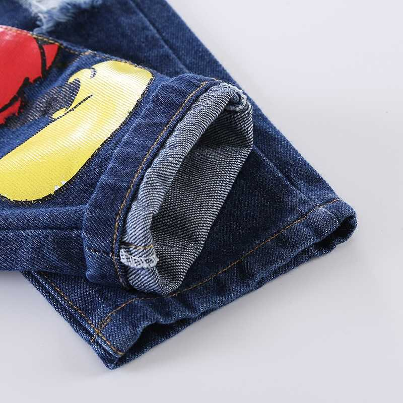 6d70365d ... Fashion Boys Clothing Set T shirt Jean Summer Suit Kids Sport suit Baby  Boys Girl Cartoon ...