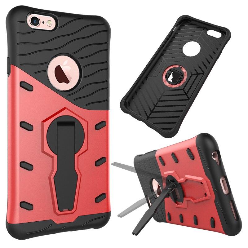 Stent battlegear pc y tpu casos para apple iphone 6s iphone6s 4.7 pulgadas funda