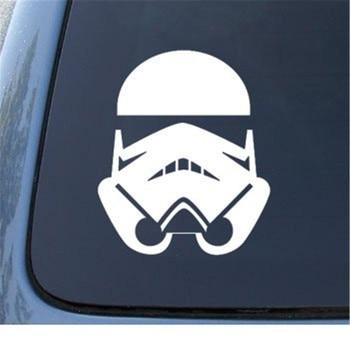 STORMTROOPER Star Wars die cut vinyl decal for window, car, truck, tool box, laptop, noteBook decals white