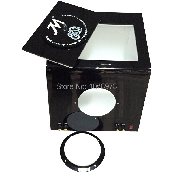 High Quality Jewelry Tools Medium Size 156 LED lights Photography Equipment Jewelry Photography Box